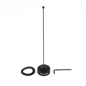 """BROWNING NMO 1/4 Wave Tuneable Antenna 450-470 MHz 6.32"""" Whip"""