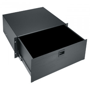 MIDDLE ATLANTIC 4U Utility Drawer with Spring Loaded Latches