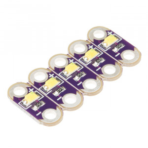 SPARKFUN LilyPad LED White (5pcs)