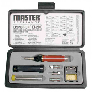 MASTER APPLIANCE Econoiron Butane Powered Soldering Iron Kit