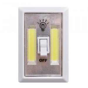 GO GREEN Single Gang Surface Mount LED Light