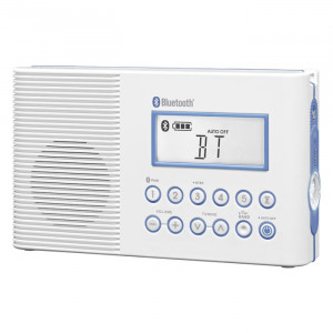 SANGEAN FM/AM /Weather Alert/Bluetooth Waterproof Shower Radio