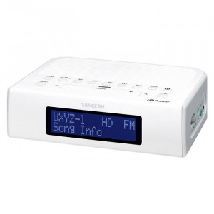 SANGEAN HD Clock Radio FM-Stereo/AM
