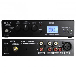 ROLLS Digital FM Broadcast Transmitter