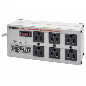 TRIPPLITE Isobar 6-Outlet Surge Protector