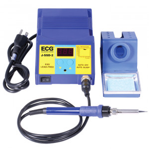 ECG 75W Temperature Controlled Soldering Station with Digital Readout