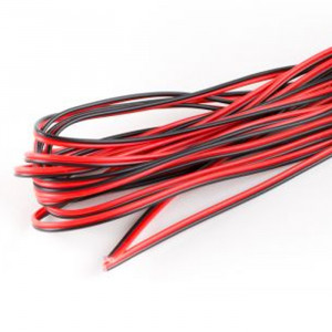 OSEPP 2-Conductor Wire Red/Black (16 ft) 26AWG