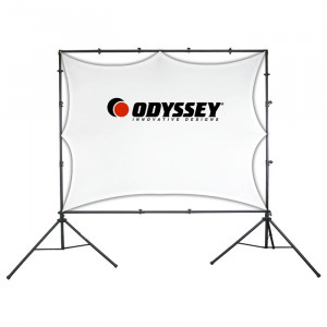 ODYSSEY Video Projection Screen System 10ft x 14ft