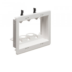 ARLINGTON 3-Gang Recessed Low-Voltage Mounting Bracket