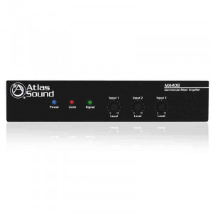 ATLAS 40 Watt 3 Input Mixer Amplifier