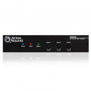 ATLAS 60 Watt 3 Input Mixer Amplifier