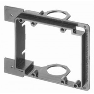VANCO Old Work Low Voltage Mounting Bracket Dual-Gang