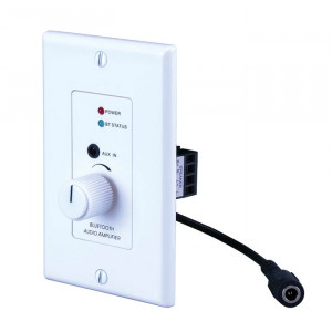 VANCO 30W 2-CH Wall Plate Amplifier with Bluetooth