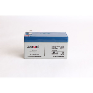 ZEUS Sealed Lead Acid Battery 12v 1.3ah