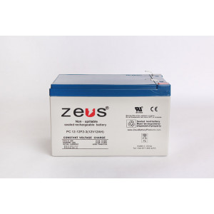 ZEUS Sealed Lead Acid Battery 12v 12ah