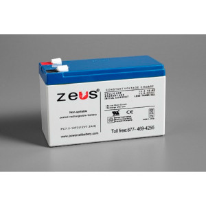 ZEUS Sealed Lead Acid Battery 12v 7.2ah