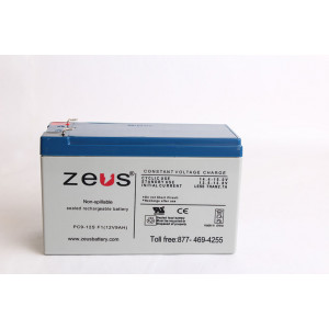 ZEUS Sealed Lead Acid Battery 12v 9ah