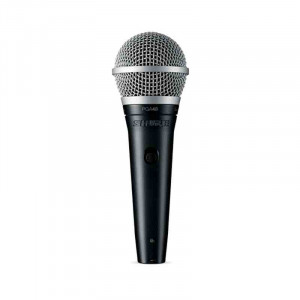 SHURE PGA48 Cardioid Dynamic Vocal Microphone with 15ft XLR Cable