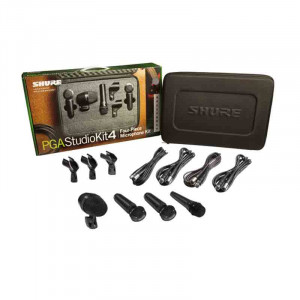 SHURE Studio Microphone Kit 4 Piece
