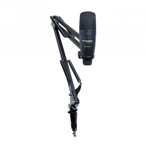 MARANTZ USB Microphone with Broadcast Stand and Cable