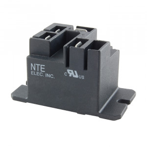 NTE Power Relay 12VDC 20A SPDT Flange Mount
