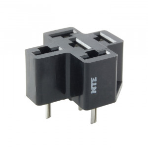 NTE 5-Pin PC Board Relay Socket
