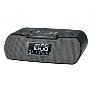 SANGEAN FM-RDS(RBDS)/AM/Bluetooth/Aux-in/USB Charging Digital Tuning Clock Radio