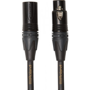 ROLAND Microphone Cable 10ft Gold Series