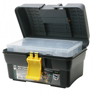 "ECLIPSE Multi-Function Tool Box 11.42"" x 6.89"" x 6.89"""