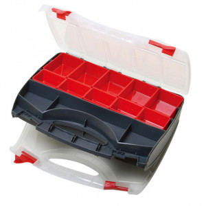 ECLIPSE Double Sided Compartment Storage Case