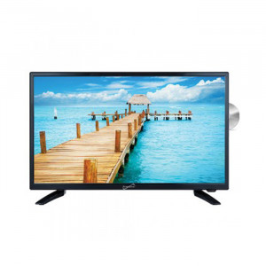 "SUPERSONIC 24"" LED TV with DVD Player AC/DC"