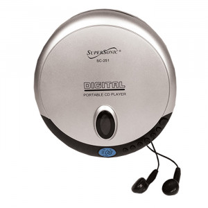 SUPERSONIC Personal MP3/CD Player