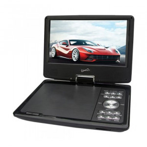 "SUPERSONIC 9"" Portable TV / DVD Player"