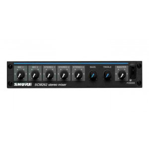 SHURE Stereo Microphone Mixer