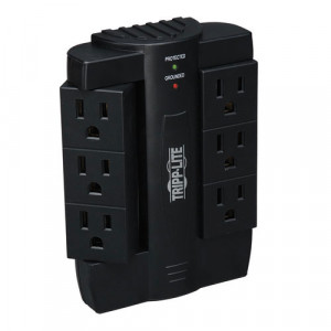 Tripplite 6 Rotatable Outlets Direct Plug-in