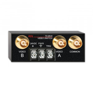 RDL Manual BNC Remote Controlled 2x1 Video Switch