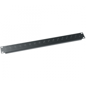 MIDDLE ATLANTIC Universal Connector Rack Panel 1U