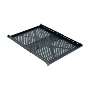 "MIDDLE ATLANTIC Adjustable Rack Shelf 1U 16""-26""D 500lb capacity"
