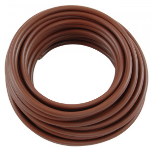 NTE Hook-up Wire 14 AWG Stranded 20ft Brown