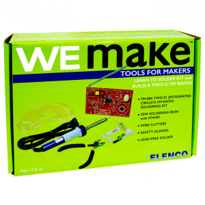 ELENCO FM Radio Soldering Kit with Tools