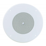 "ATLAS 8"" 25V/70V In-Ceiling Speaker with Baffle"