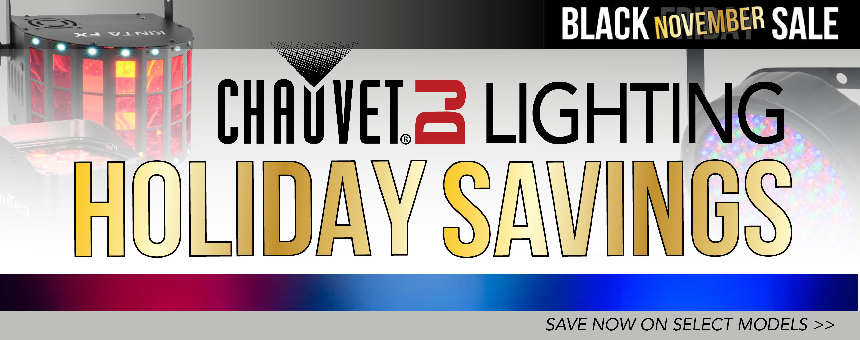 Chauvet Winter Holiday Sale 2019